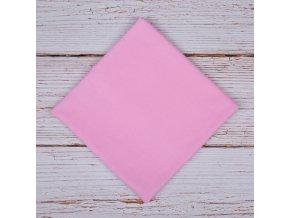 Flanelová plenka 70x80cm, růžová