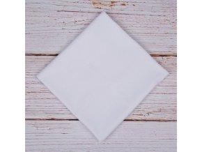 Flanelová plenka 70x80cm, bílá