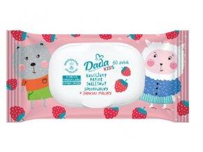 Dada dětský vlhčený toaletní papír s vůní maliny, 50ks