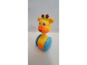 Jezdící žirafa žlutá