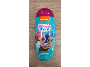 Uroda sprchový gel a šampón pro děti 250ml Shimmer Shine zelený