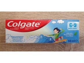 Colgate dětská mentolová zubní pasta 6-9 let