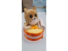 Plenkový dort 4child Nr.10 oranžový