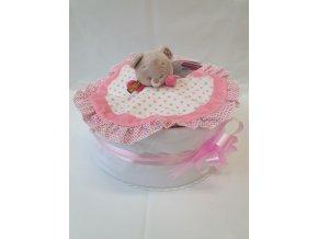 Plenkový dort 4child Nr.11 růžový