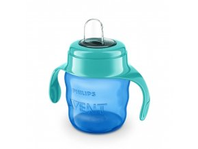 philips avent classic spout cup 200ml green for boys scf551 05