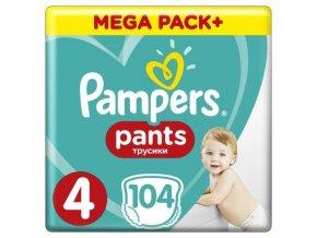 Pampers Active Pants 4 Maxi Mega Box, 9-15kg, 104ks