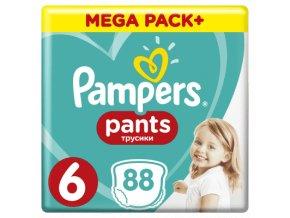 Pampers Active Pants 6 Extra Large Mega Box, 16+kg, 88ks
