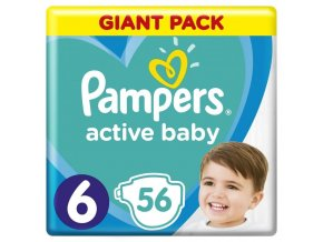 Pampers S6 56ks