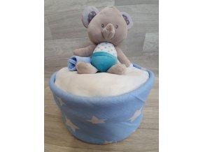 Plenkový dort 4child Nr.22 modrý medvídek