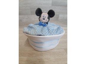 Plenkový dort 4child Nr.24 modrý myšák Mickey