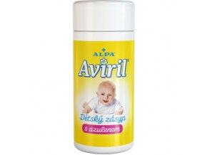 AVIRIL dětský zásyp s azulenem 100g