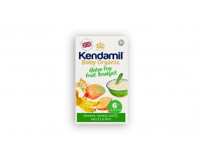 KNC Cereals organic gluten free porridge deatil
