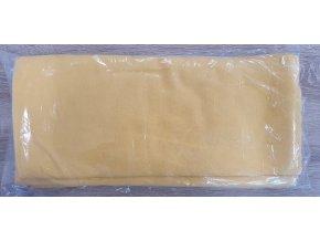 Flanelová plenka 70x80cm, žlutá