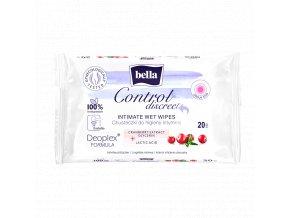 www.Bella Control discreet chusteczki do higieny int. 20szt afe22da8af215ed1df911eebedc144c9