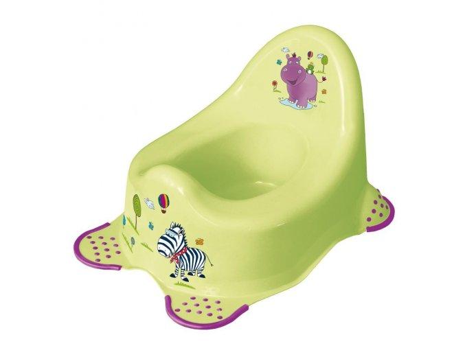 Keeper nočník hroch zelený