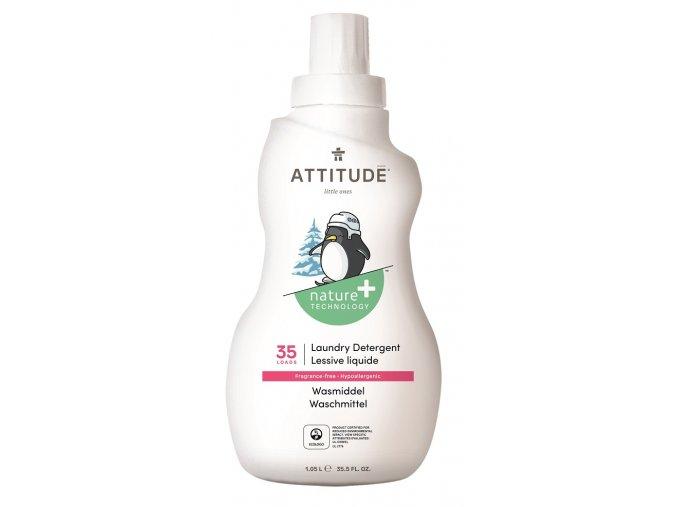 Praci gel pro deti ATTITUDE bez vune 1050 ml (35 pracich davek)