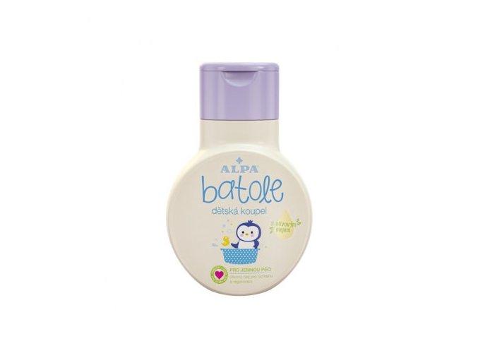 5258 batole detska koupel s olivovym olejem 200ml
