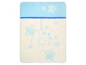 Kolekcja Teddy kocyk niebieski228