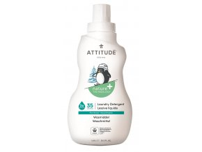 Praci gel pro deti ATTITUDE s vuni hruskove stavy 1050 ml (35 pracich davek)