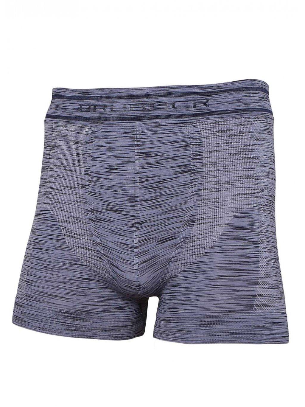Brubeck pánské boxerky Fusion (Barva Jeansová, Velikost XXL)
