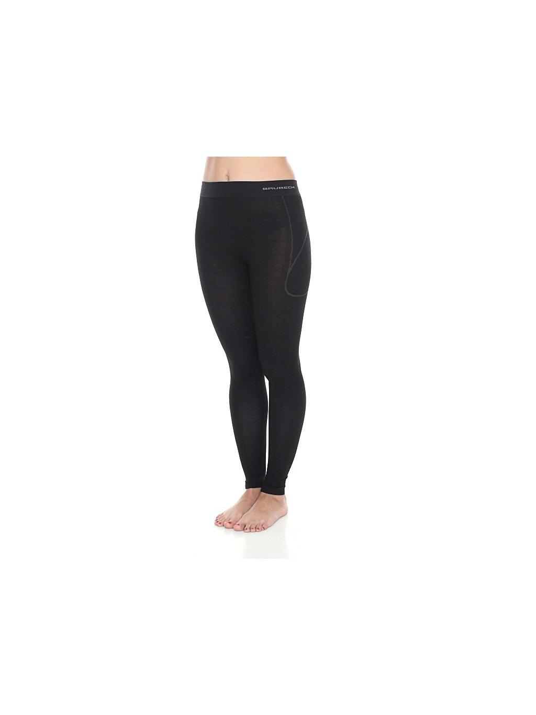 Brubeck dámské spodní kalhoty Active wool (Barva Černá, Velikost XL)