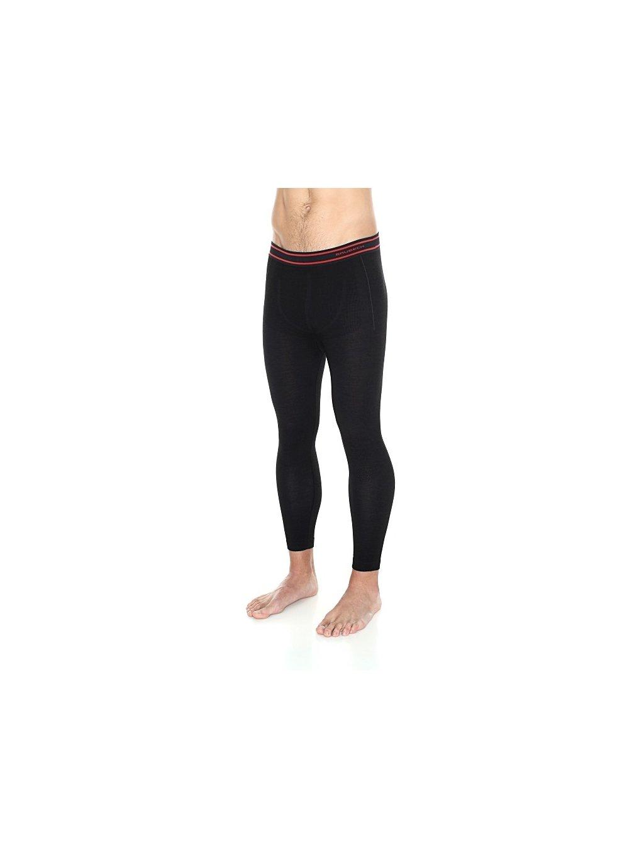 Brubeck pánské spodní kalhoty Active wool (Barva Černá, Velikost XXL)