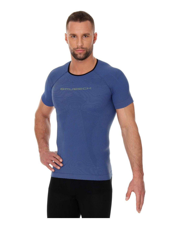 Brubeck pánské tričko krátký rukáv 3D Run Pro Athletic (Barva Červená, Velikost XXL)