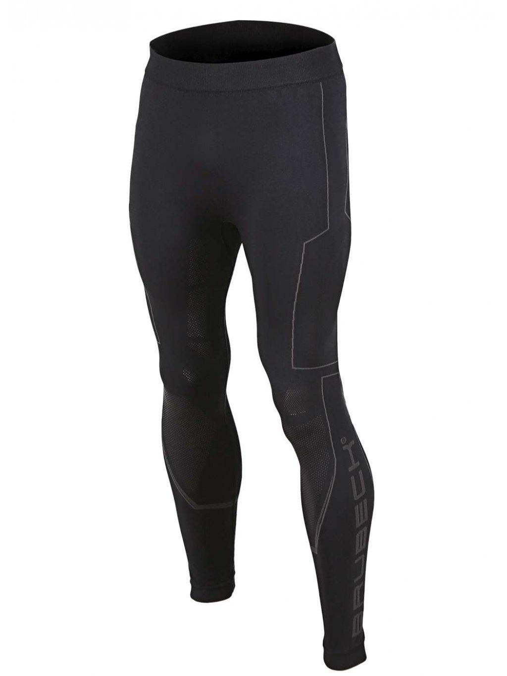 Brubeck pánské spodní kalhoty na motorku COOLER (Barva Černá, Velikost XXL)