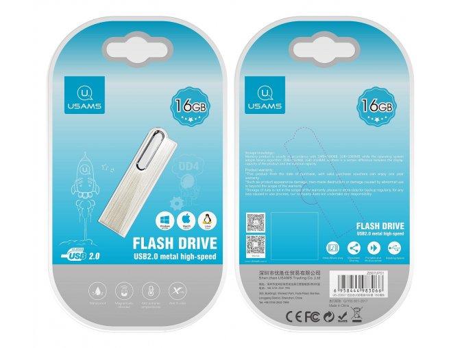 Usams 16GB vysokorýchlostný USB kľúč s hliníkovým telom