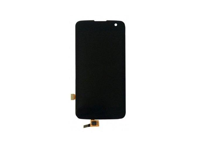 LG K4 K120e LCD displej a dotykové sklo čierne