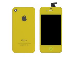 lcd iph 4 yellow