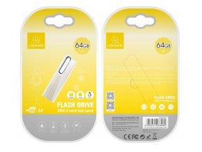 Usams ZB099 64GB vysokorýchlostný USB kľúč s hliníkovým telom