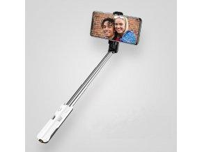 Usams ZB056 M1 Mini Selfie tyč s bezdrôtovým diaľkovým ovládačom čierna