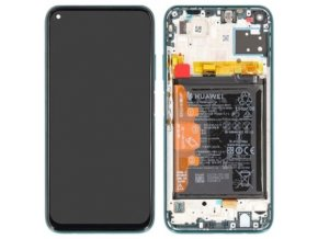 Huawei P40 Lite Front Cover LCD Display Service Pack Green 02353KGA 25062020 1 t