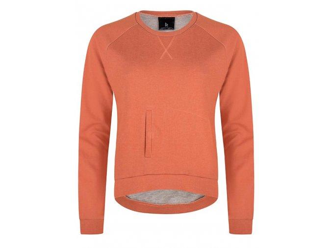 Web Vrouw Pullover Orange 1