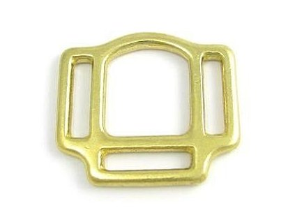 halter square 3 sided 25mm