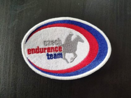 Výšivka - logo Czech endurance team