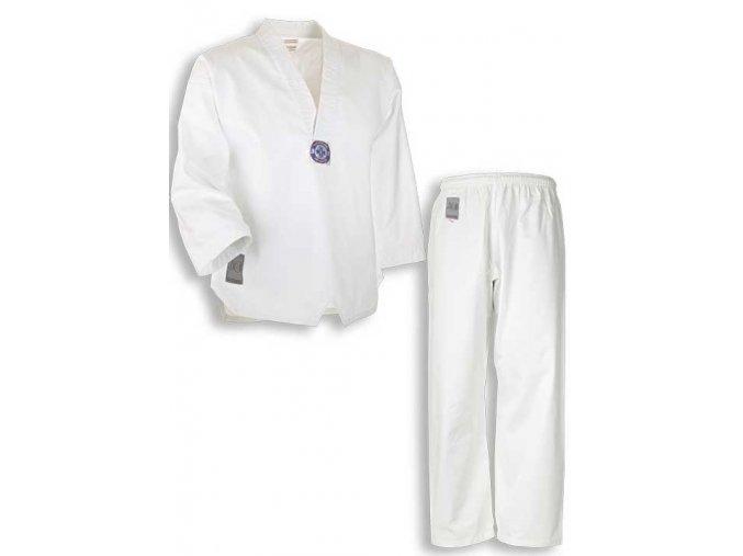 Dobok taekwondo BONSAI pro začátečníky,  WTF střih včetně bílého pásku