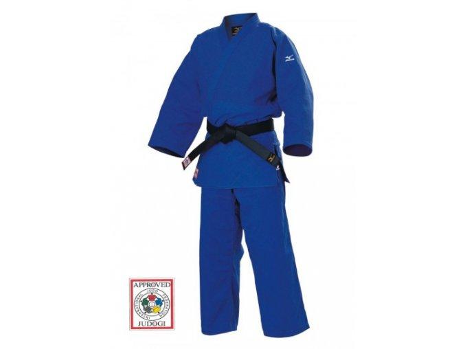 Kimono judo MIZUNO YUSHO III IJF  approved modré