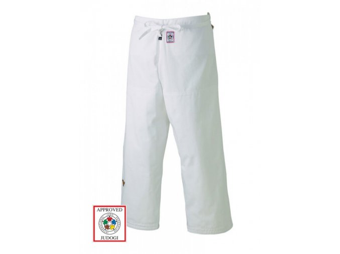 Judo kalhoty MIZUNO YUSHO made in Japan IJF bílé