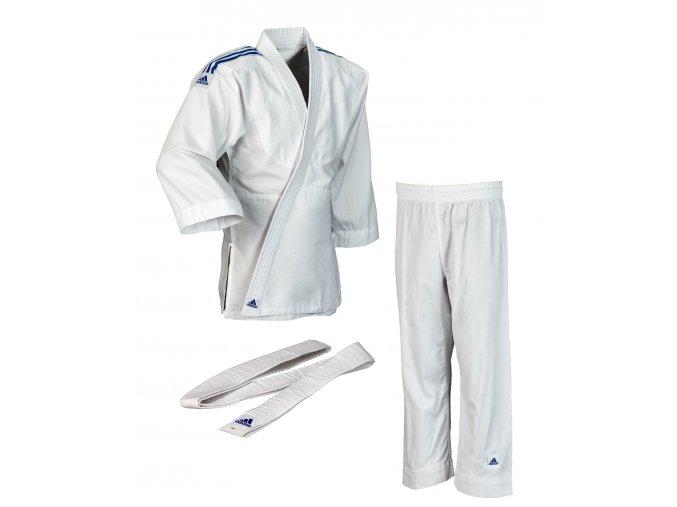 adidas JudoGi Evolution J250E white 1