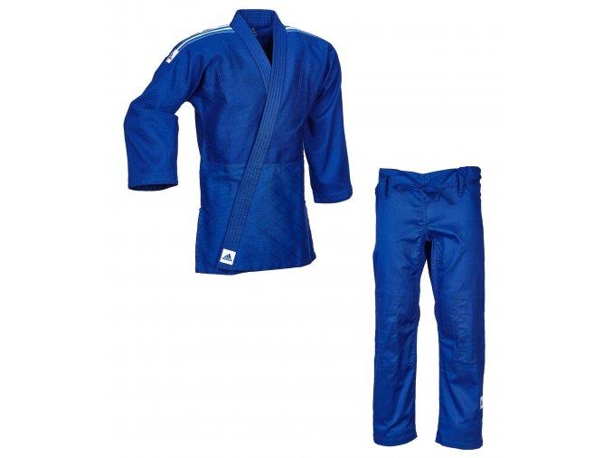 adidas Judo Training J500B blue white 01