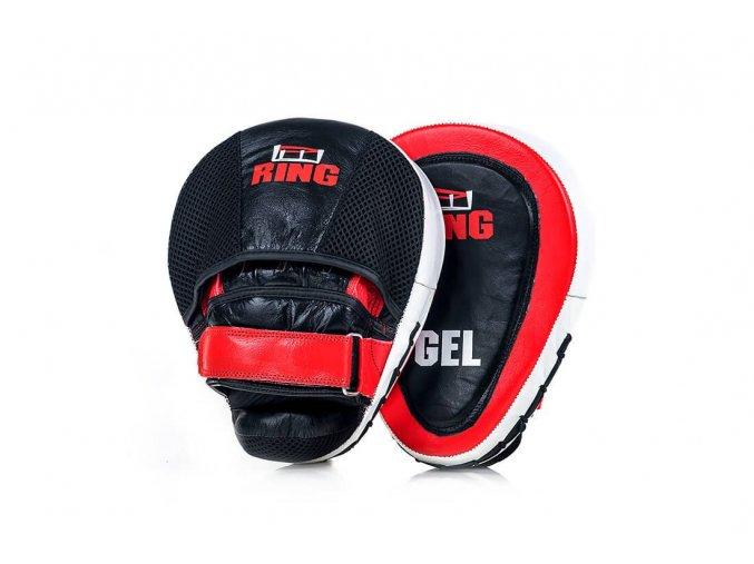 RING SPORT tréninkové lapy GEL pravá kůže