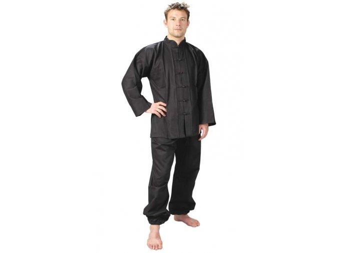 KUNG-FU OBLEK - KIMONO černé, velikosti 110-200