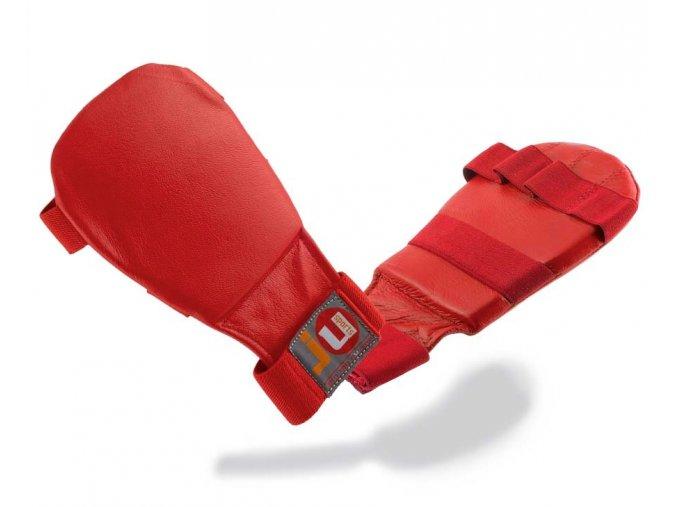 Rukavice na JIU JITSU - červené