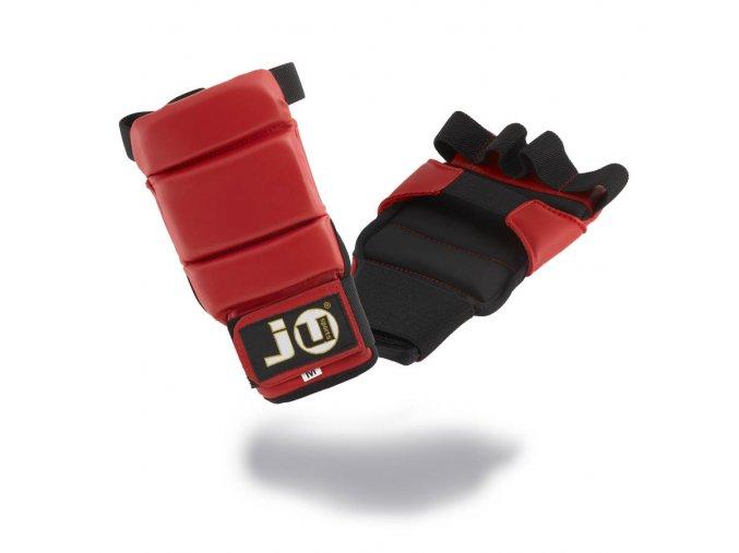 Rukavice na JIU JITSU / MMA model SECTION červené