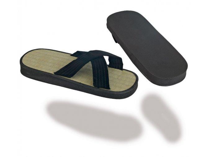 Pantofle ZORIS - rýžový rákos