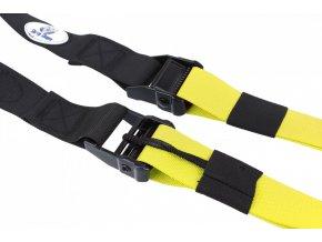 Závěsný posilovací systém typu TRX Sharp Shape Yellow