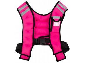 Zátěžová vesta Sharp Shape Weight vest Pink