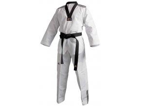 Taekwondo Dobok ADIDAS - model adiclub 3S černý revers